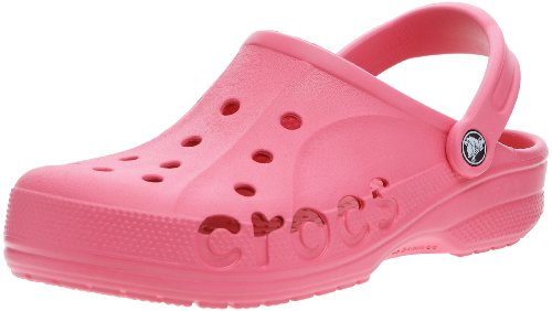 Crocs Unisex-Adult Baya Hot Pink Clog 10126-654-160 4 UK