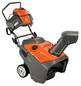 Husqvarna ST121E 21-Inch 208cc Single Stage Electric Start Snow Thrower (Discontinued by Manufacturer)