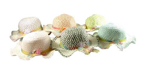 Girls Tea Party Hat Mix - 4 Hats In Bundle