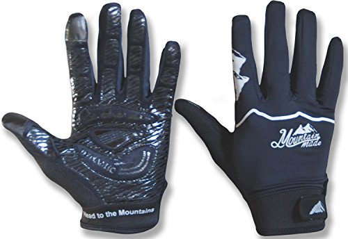 Mountain Made Crestone Cycling, Driving, Exercise and Weather Gloves For Men and Women with Touchscreen