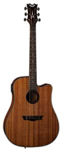Dean Guitars AX DCE MAH AXS Dreadnought Cutaway Acoustic-Electric Guitar, Mahogany from Dean Guitars