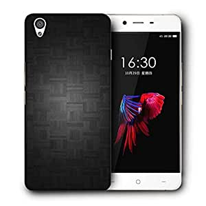 Snoogg Black Floor Deisgn Printed Protective Phone Back Case Cover For OnePlus X / 1+X