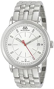 88 Rue du Rhone Men's 87WA120063 Analog Display Swiss Quartz Silver Watch