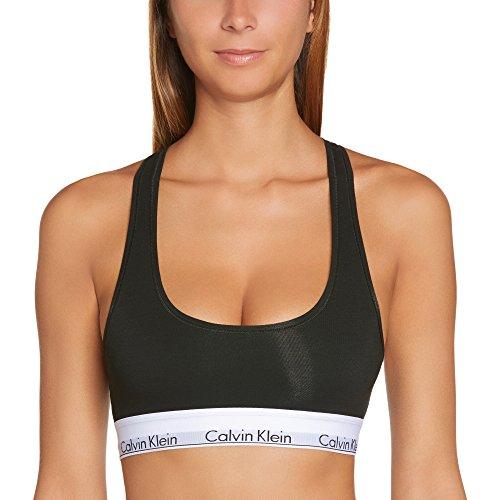 Calvin Klein - Reggiseno Modern Cotton, Donna, nero (Schwarz (Black 001)), M