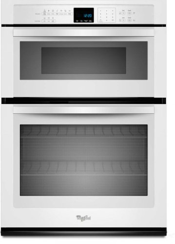 "Whirlpool Woc54Ec0Aw 30"" White Electric Combination Wall Oven"