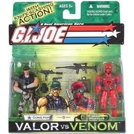 Gung Ho vs. Wild Weasel GI Joe Venom vs. Valor Action Figures [Toy]