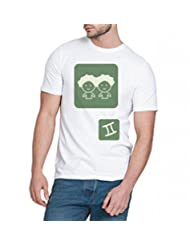 Chillum Men's Cotton T-shirt White - B00R9ESEOO