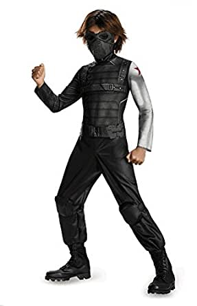 Marvel Captain America Little Boys The Winter Soldier Classic Halloween Costume