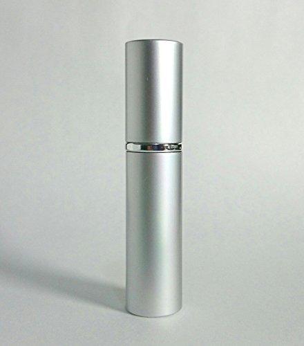 Chicca Cerchio 大人香るアトマイザー メタル 銀 シルバー 男女兼用 メンズ レディース かわいい ロート付き