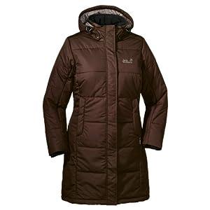Jack Wolfskin Damen Mantel Iceguard Coat, Mocca, XS, 1201221-5200001