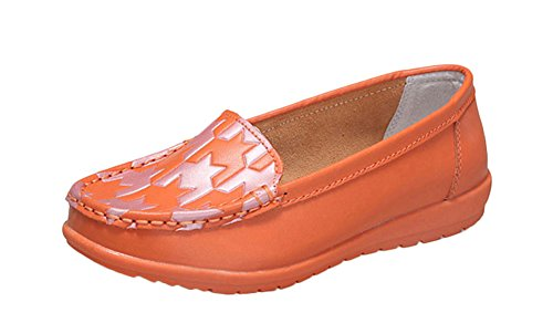 fq-real-new-leather-color-singles-casual-low-flat-shoes-orange-size-5-uk