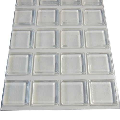 rubber-feet-adhesive-rubber-pads-1-inch-square-self-stick-bumpers-clear-bumper-pads-20-pack