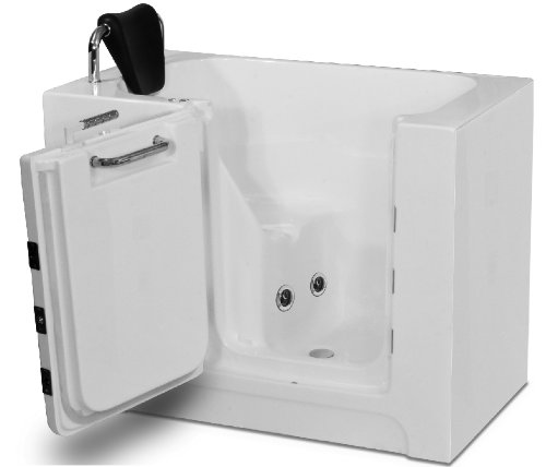Meditub 2739RWH 27x39 Right Drain White Whirlpool Jetted Walk-In Bathtub ap400 lx air blower hot tub chinese spa spa serve import whirlpool bath