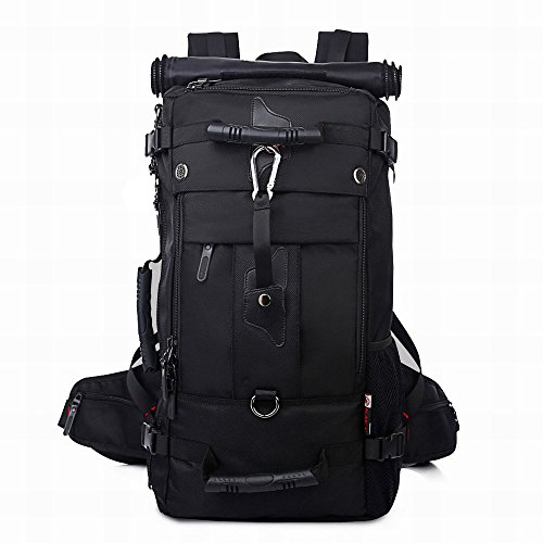 Kaka 2070 - Zaino da trekking, 40 l, colore: nero nero