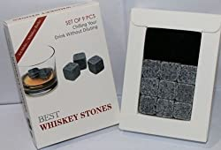 Whisky Ice Stones Drinks Cooler Cubes Beer Rocks Granite Pouch Drink Cooling Ice
