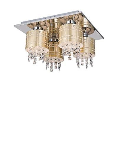 Light&Design Lámpara De Techo Maya Oro