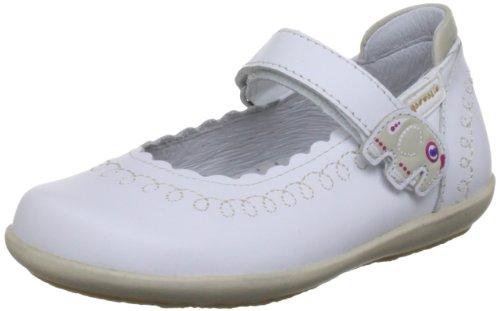 Garvalin 132413, Mary Jane bambina, Weiß (White), 26
