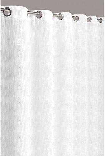 rideau uni effet lin grande largeur 280 240 cm blanc naturel les petites annonces gratuites. Black Bedroom Furniture Sets. Home Design Ideas