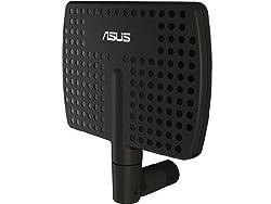 Asus Wl-ANT157 5DBI/7DBI High Gain Dual-Band Wireless Antenna (Black)