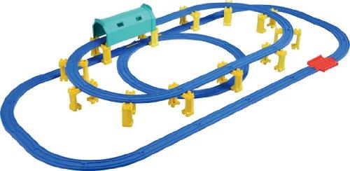 プラレール 駅とつながる高架トンネルレールセット