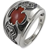 Lord of the Rings Sterling Silver Ring of the Humankings
