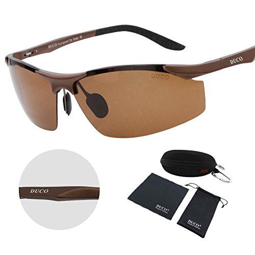 a4dc24a4f1 Duco Men s Sports Polarized. Duco Men  39 s Driving Sunglasses Polarized  Glasses Sports Eyewear Fishing Golf Goggles 8179S
