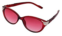 SHVAS UV Protection Cat Eye Womens Sunglasses [CATPRORED]