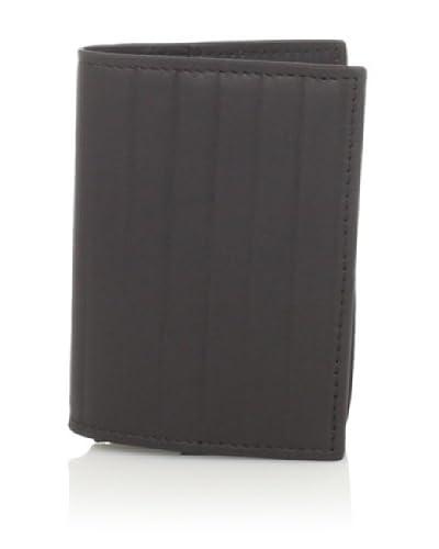 Joseph Abboud Men's Pinstripe Embossed Flip Passcase Wallet