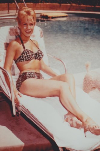 Dream Of Jeannie Barbara Eden Leopard Bikini