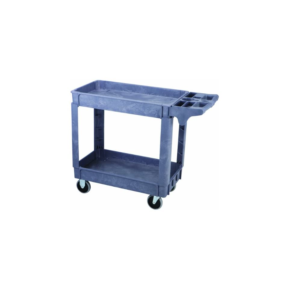 Maxworks 40108 Industrial Polypropylene Service Cart, 30 Inch by 16 Inch, 500 Pound Capacity