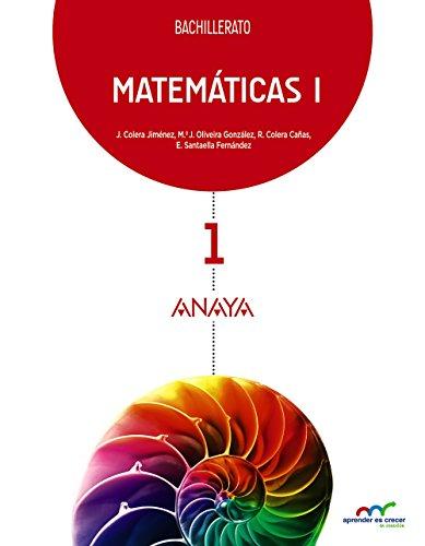 Matemáticas I. (Aprender es crecer en conexión)