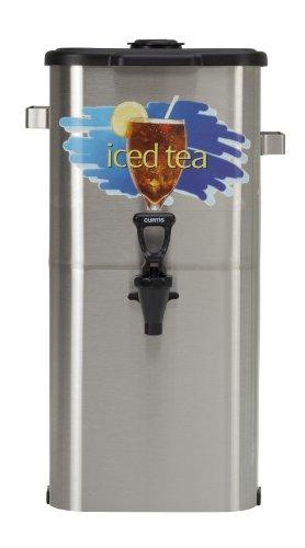 Wilbur Curtis Iced Tea Dispenser 4.0 Gallon Tea Dispenser, Oval 19