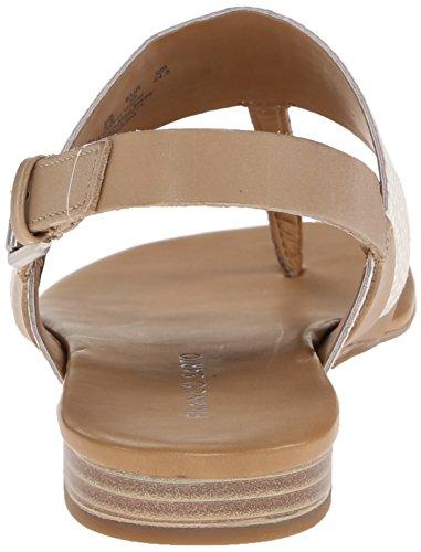 Franco Sarto Women's Gesso Platform Sandal, Ice/Taupe, 9.5 M US