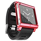 ラナ LunaTik Multi-Touch Watch Band [ レッド ] ルナティック マルチウォッチバンド iPod nano 6G専用
