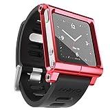 LunaTik Multi-Touch Watch Band [ レッド ] ルナティック マルチウォッチバンド iPod nano 6G専用
