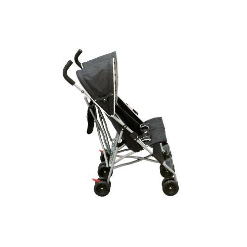 Delta Children City Street Side by Side Stroller, Black