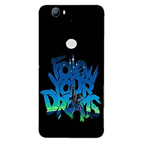 Back cover for Nexus 6P Follow your Dreams 2