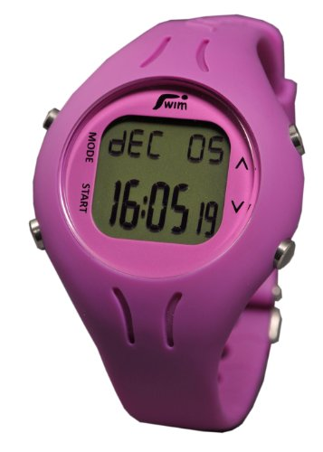 Swimovate Pool Mate Watch Speed, Distance and Lap Computer for Swimmers (Pink)