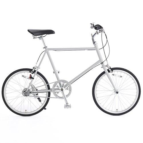 無印良品 20型クロモリ自転車コンパクトタイプ グレー・内装3段