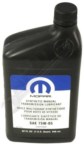 OEM Mopar 4874459 Gear Lube Synthetic Manual Transmission