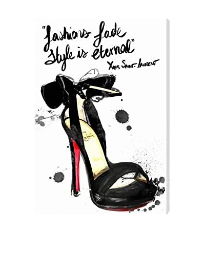 """Oliver Gal Artist Co. """"Fashions Fade"""" Canvas Art"""