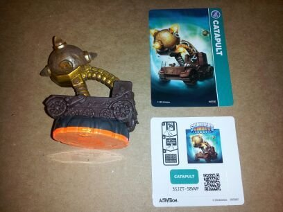 Skylanders Giants LOOSE Figure Catapult - Includes Card Online Code - 1