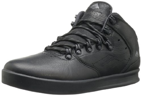 Emerica Men's The Reynolds LX Skate Shoe,Black,8 D US
