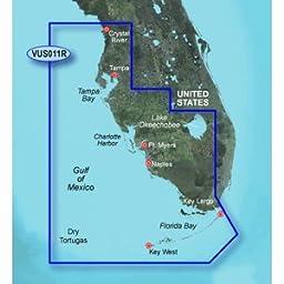 GARMIN VUS011R SOUTHWEST FLORIDA BLUECHART G2 VISION \