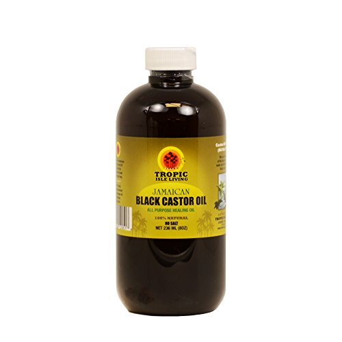 Tropic Isle Jamaican Black Castor Oil 8oz with an Applicator, Safe Pet Bottle Packaing (Oil Applicator compare prices)