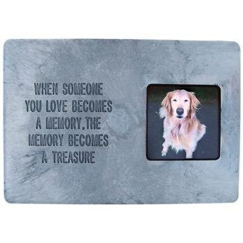 Hueter Toledo Photo Frame Memory Treasure Stone Pet Memorial