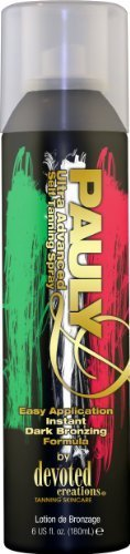 Devoted Creations Pauly D Instant Bronzing Tanning Spray 6 Oz. By Devoted Creations Beauty