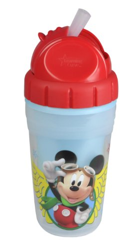 The First Years Mickey Mouse Insulated Straw Cup