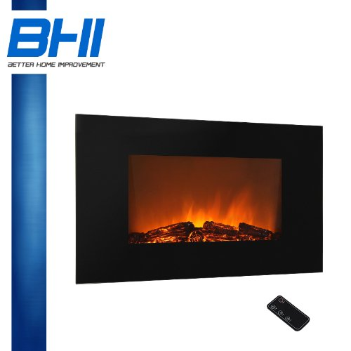 Electric Wall Mount Fireplace 36
