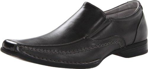 Мужские закрытые модельные кожаные туфли